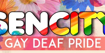 Sencity Gay Deaf Pride header